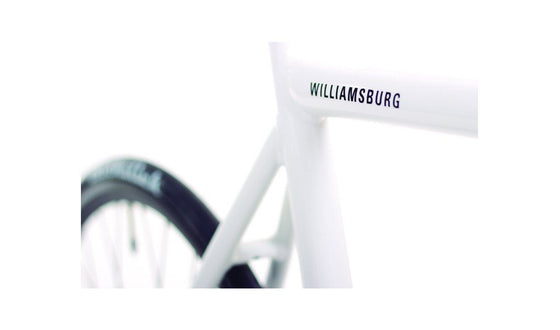 Single Speed & Fixed Gear Bikes - Williamsburg 2017 - White