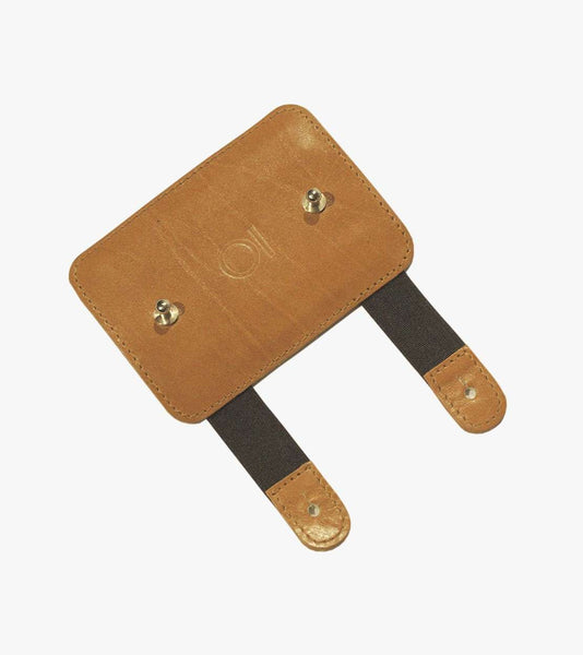 leather adapter for alloy frame cycling bag