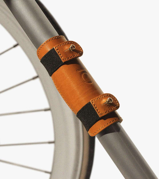 leather adapter for cycling bags