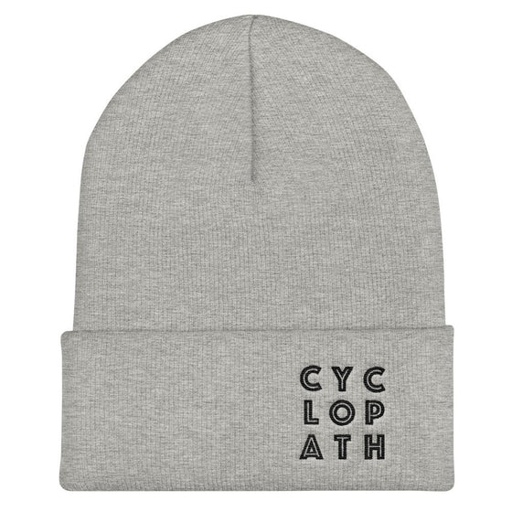Hats - Cyclopath Beanie - Grey