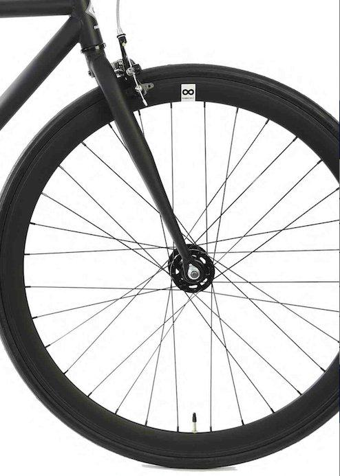 Single Speed & Fixed Gear Bikes - Fully Matte Black