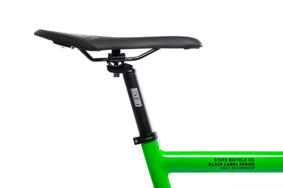 Single Speed & Fixed Gear Bikes - 6061 Black Label V2 - Zombie Green