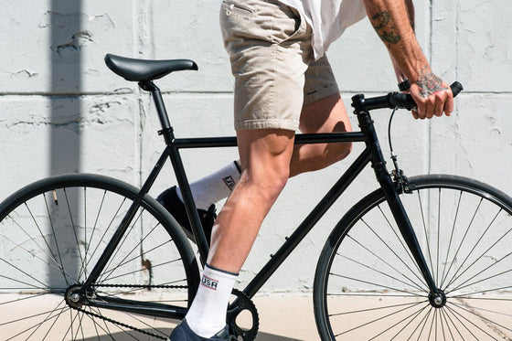 Single Speed & Fixed Gear Bikes - Matte Black 6