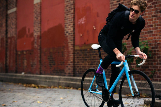 Single Speed & Fixed Gear Bikes - Undefeated 2 - Photon Blue Edition