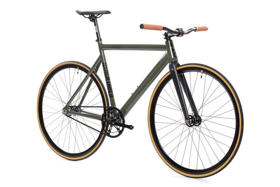 Single Speed & Fixed Gear Bikes - 6061 Black Label V2 - Army Green