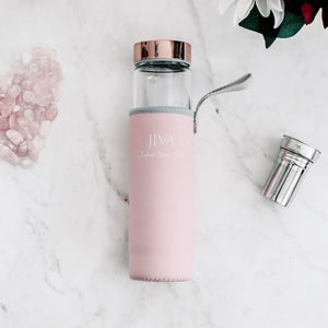 """JIVA"" - LIVEJIVA Healing Crystal Water Bottle"