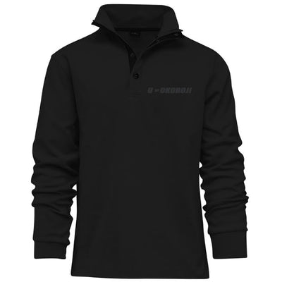 U of Okoboji Premium Pullover Black Quarter-Zip