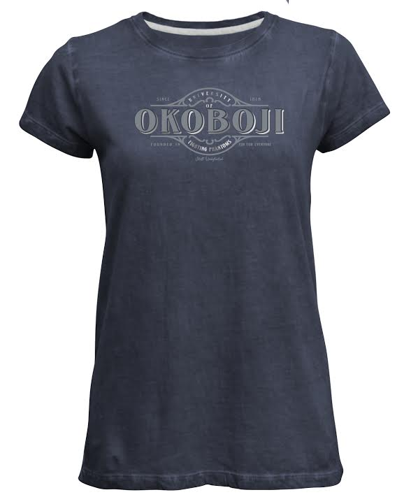 U of Okoboji Vintage Washed Tee - Cove