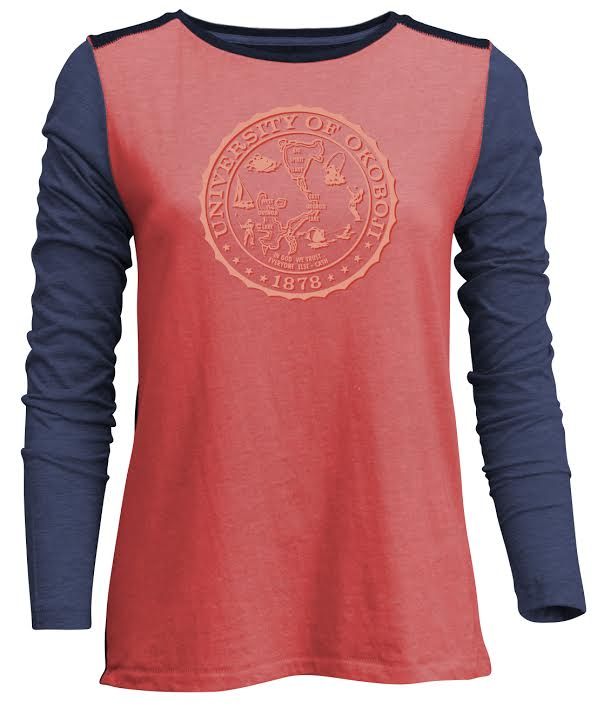 Women's Backflip Multi-Toned Long Sleeve
