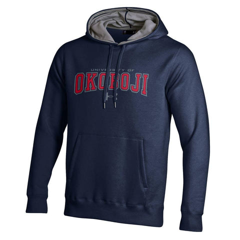 Navy University of Okoboji UA Rival Fleece