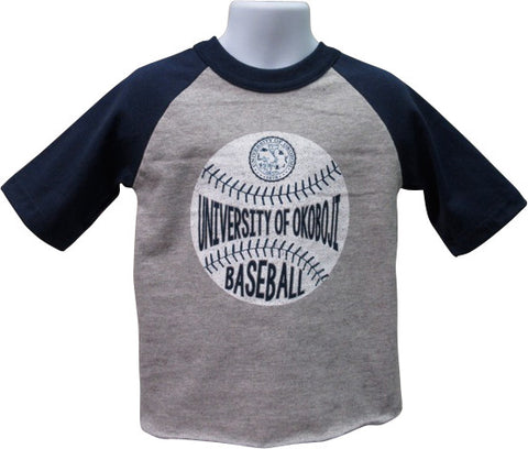 Kid's University of Okoboji Baseball Tee