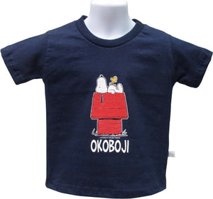 Youth Okoboji Snoopy & Woodstock T-Shirt