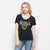 Women's Fall Navy Roundoff Tee