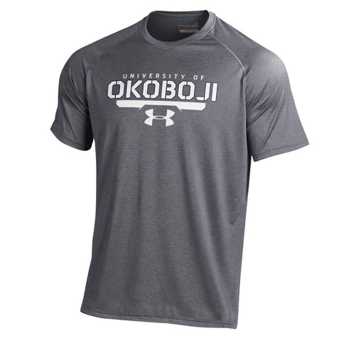 Carbon Heather Under Armour® Men's Short-Sleeve