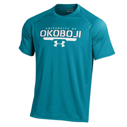 Coastal Teal Under Armour® Men's Short-Sleeve