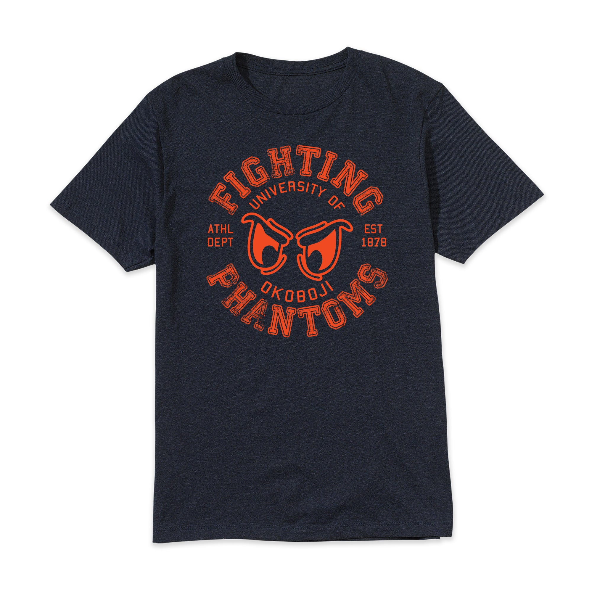 Phantom Eyes Tri-Heather Tee - Navy