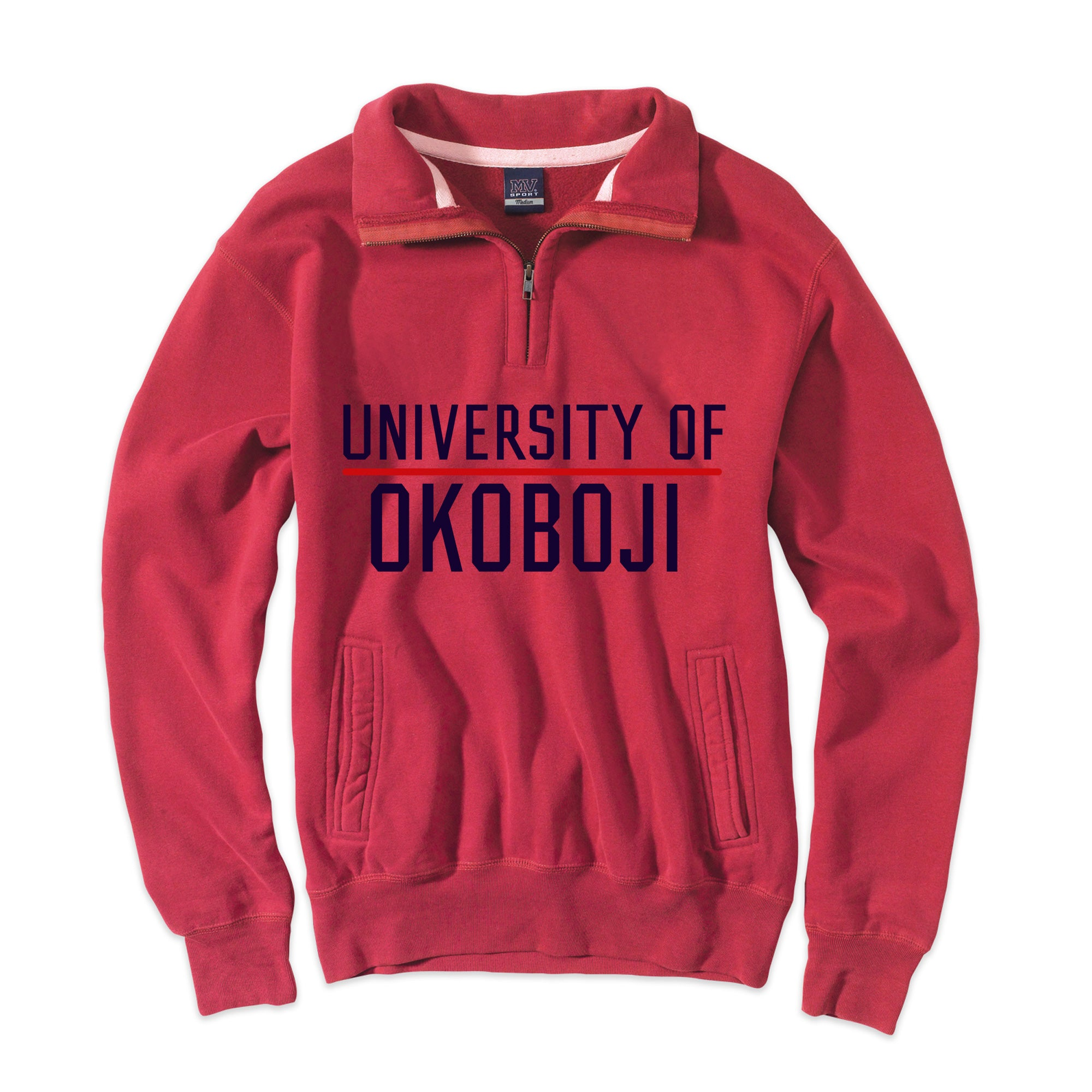 U of Okoboji Vintage Pro-Weave® Pullover - Nantucket Red