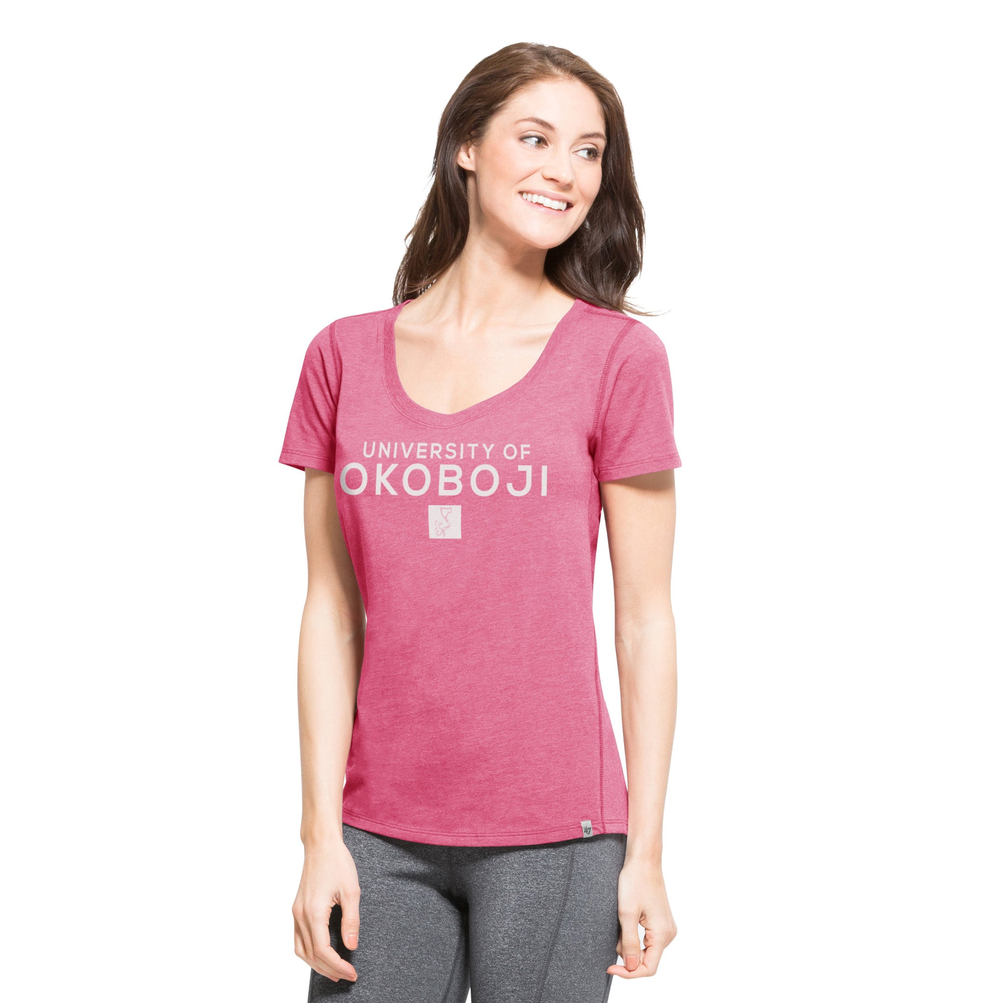 U of O Ladies '47 Forward High Point Tee
