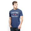 Phantom Eyes Bleacher Blue Scrum Basic Tee