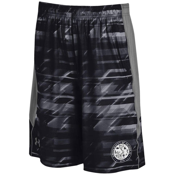 U of O Black Under Armour Shorts