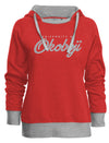 Ladies U of O Game Changer Hood - Red