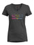 Women's V-Neck Campus Fit Tee - Charcoal Heather