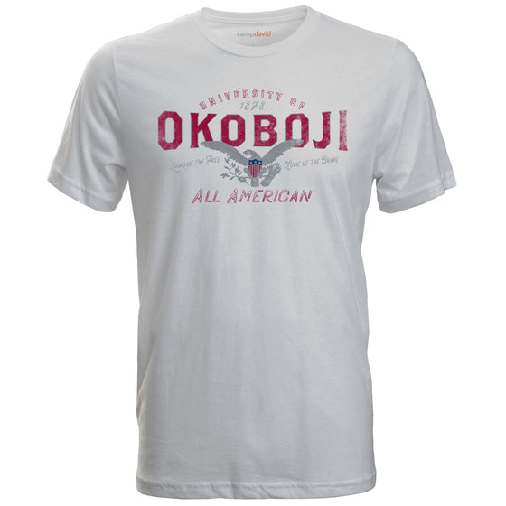 "University of Okoboji ""All American"" Tee"