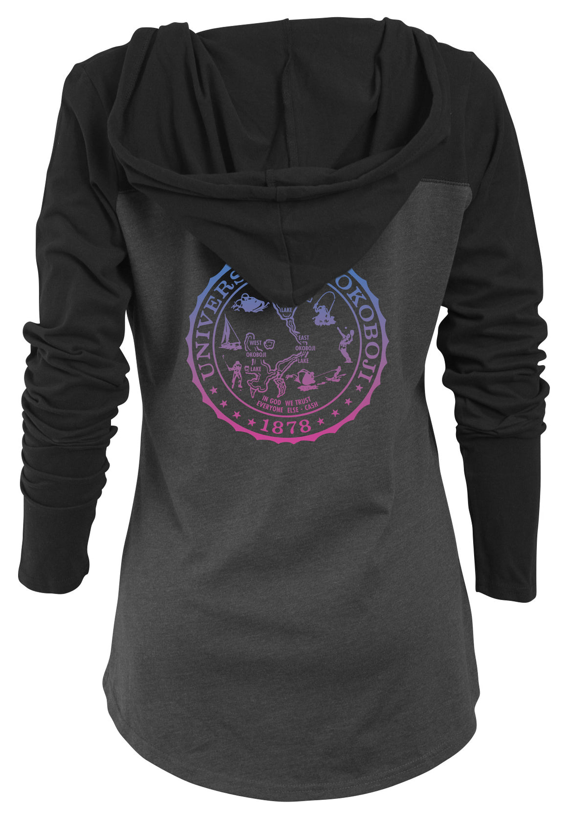 Ladies U of O Knockout Light Weight Hood