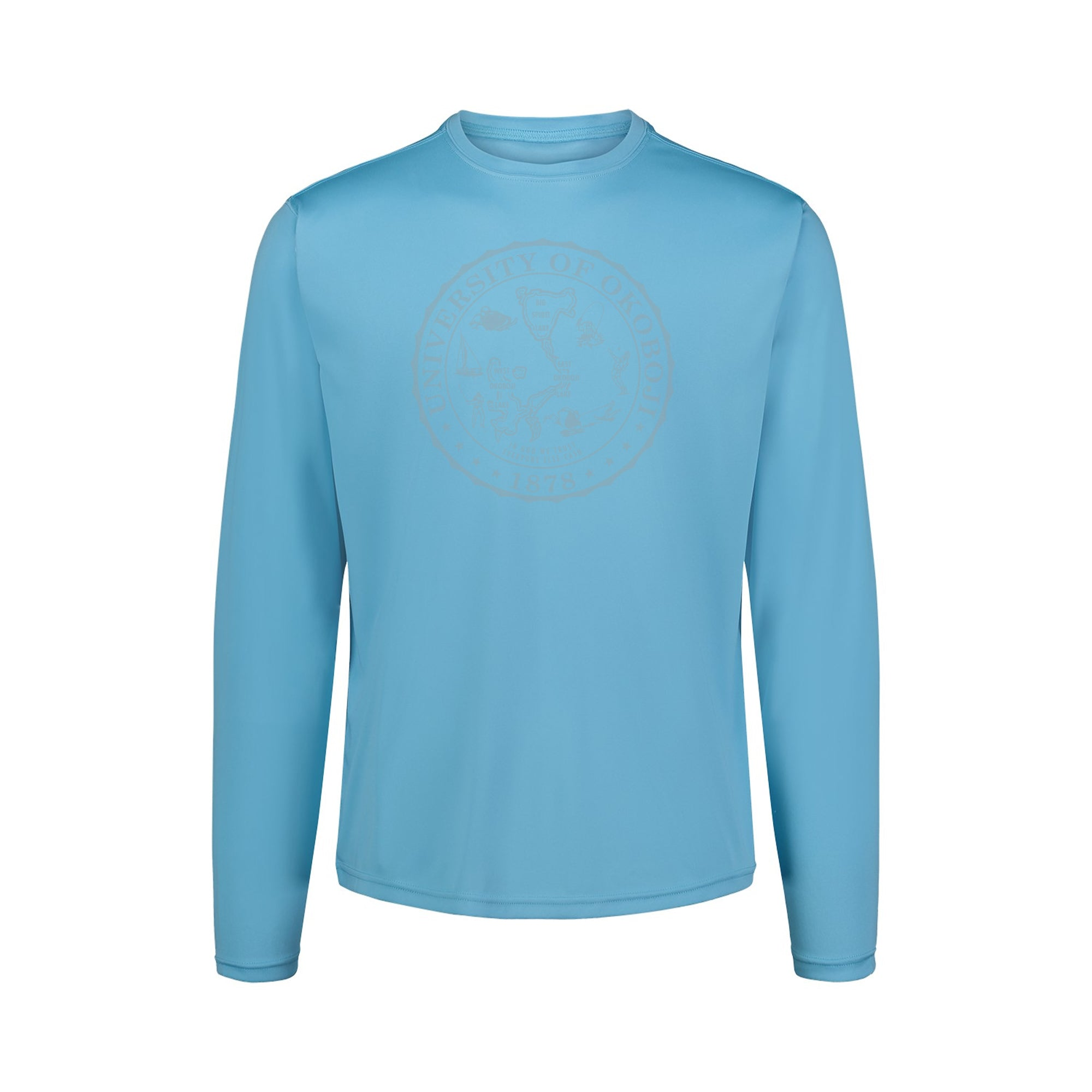 University of Okoboji Sunproof™ Long Sleeve Shirt - Cali Blue (UPF 50)