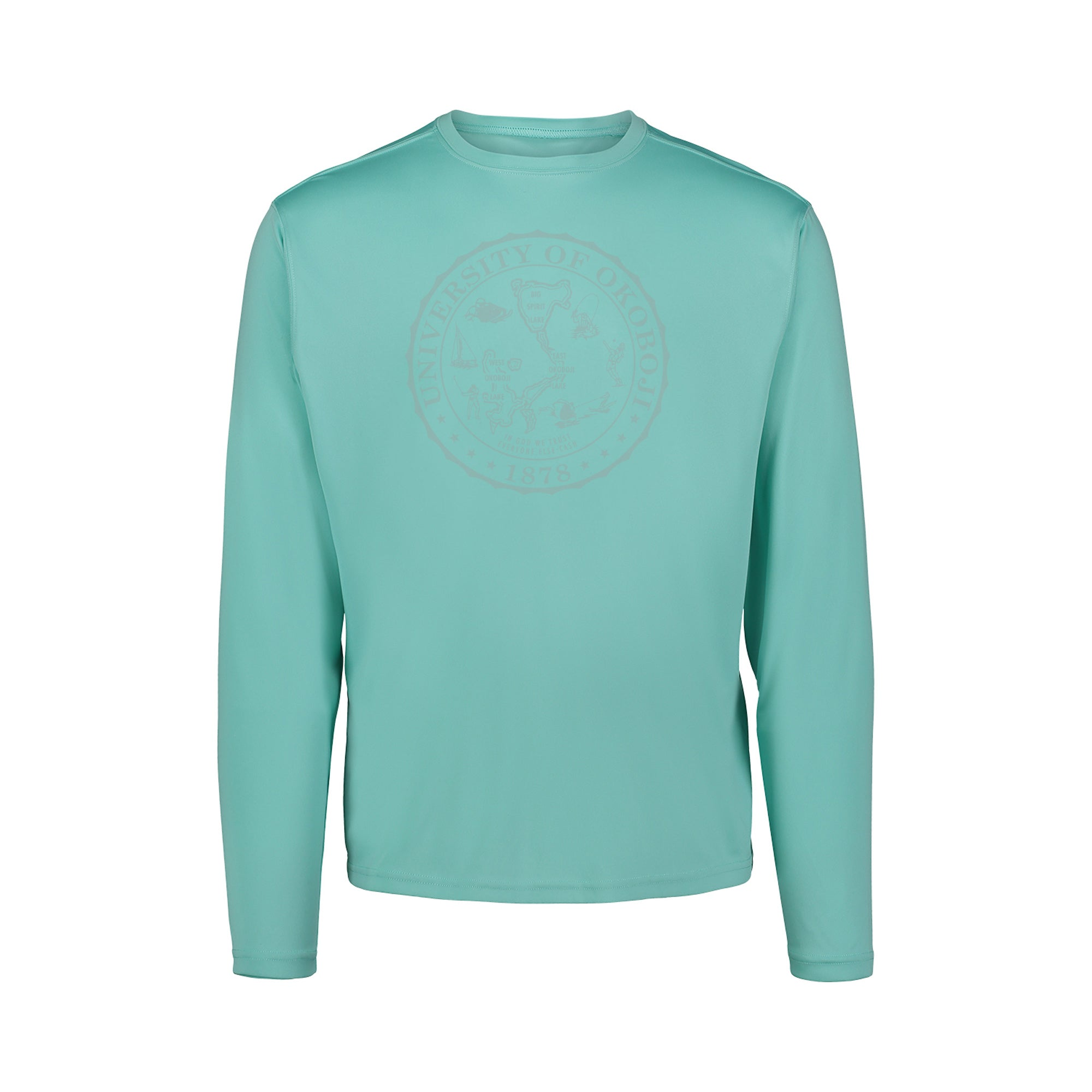 University of Okoboji Sunproof™ Long Sleeve Shirt - Oasis (UPF 50)