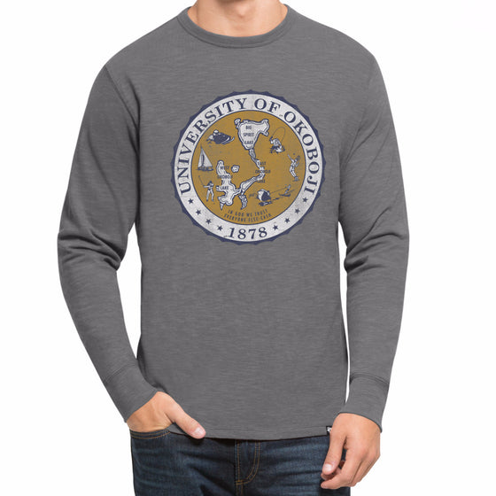 '47 Brand Men's Long Sleeve Tee Wolf Grey
