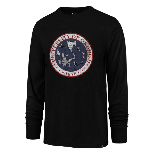 Men's '47 Long Sleeve Crest Tee - Black