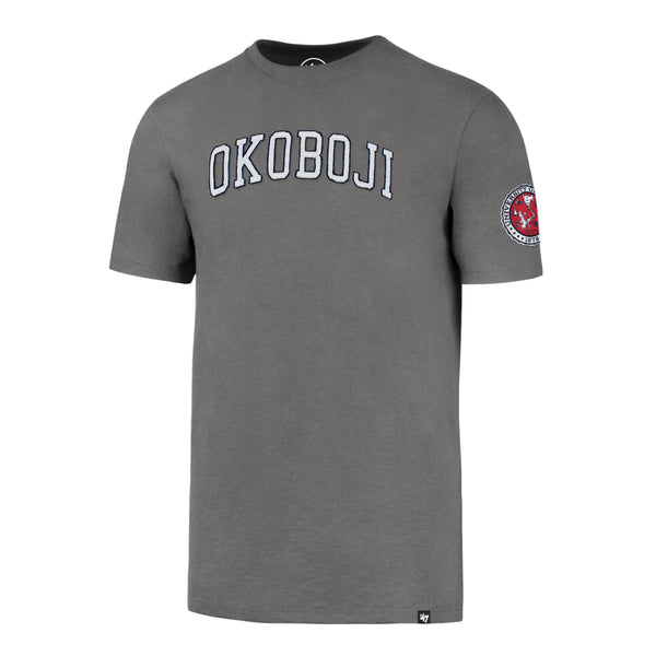 Okoboji Wolf Grey Fieldhouse Tee