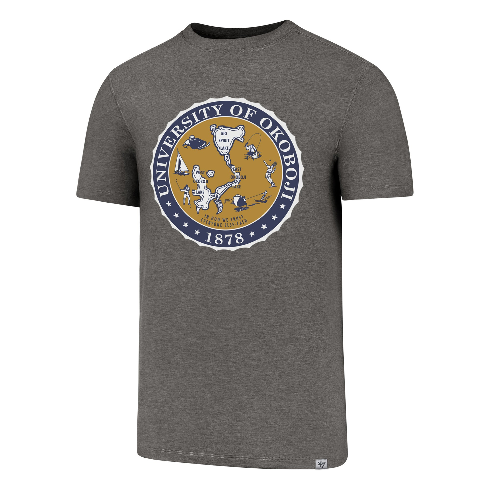 U of O Performance '47 High Point Tee - Shift Grey