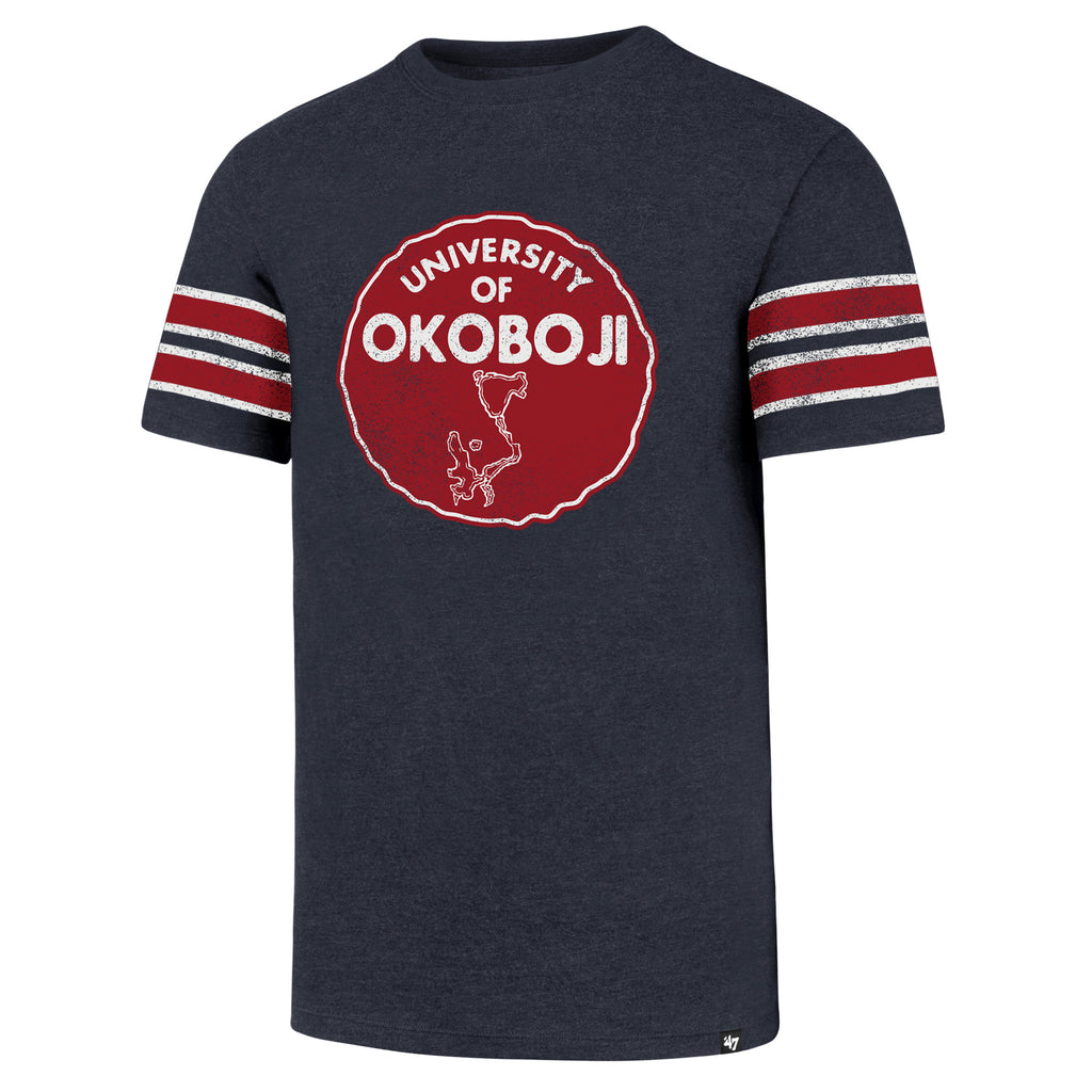 Okoboji Knockaround '47 CLUB Stripe Tee