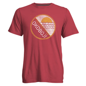 Beach Day University of Okoboji Tee