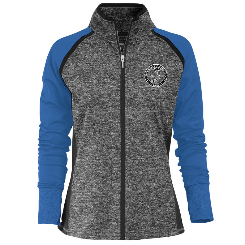 Women's Contender Premium Full-Zip Jacket - Electric Blue