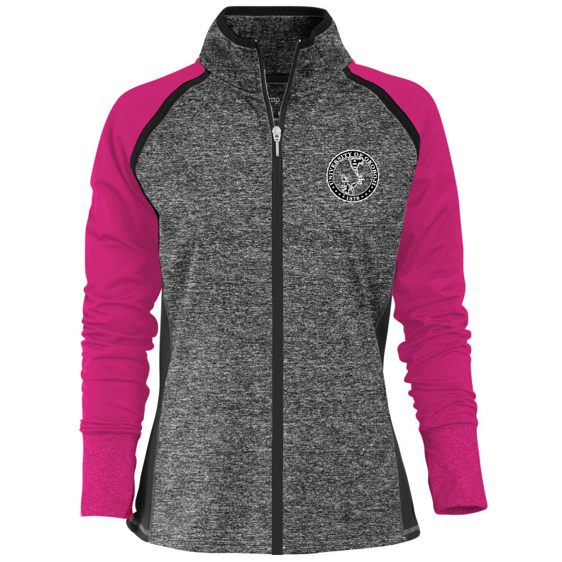 Women's Contender Premium Full-Zip Jacket - Pink
