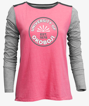 Ladies Multi-Toned Backflip Long Sleeve