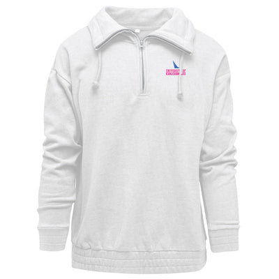 Cloud 9 Women's Funnel Neck Half-Zip Pullover