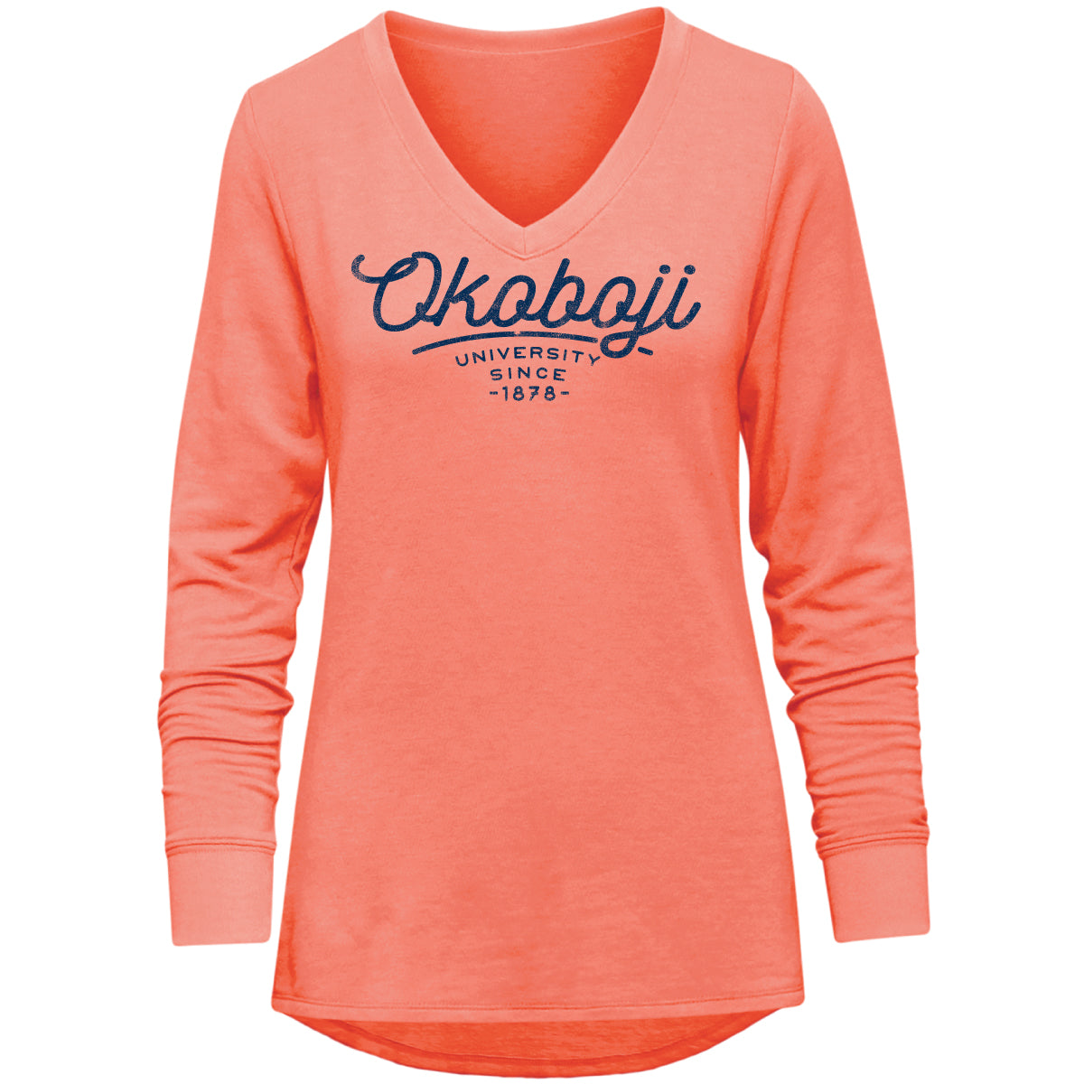 Ladies Relaxed V-Neck Okoboji Pullover