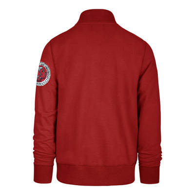 Red Striker 1/4 Zip
