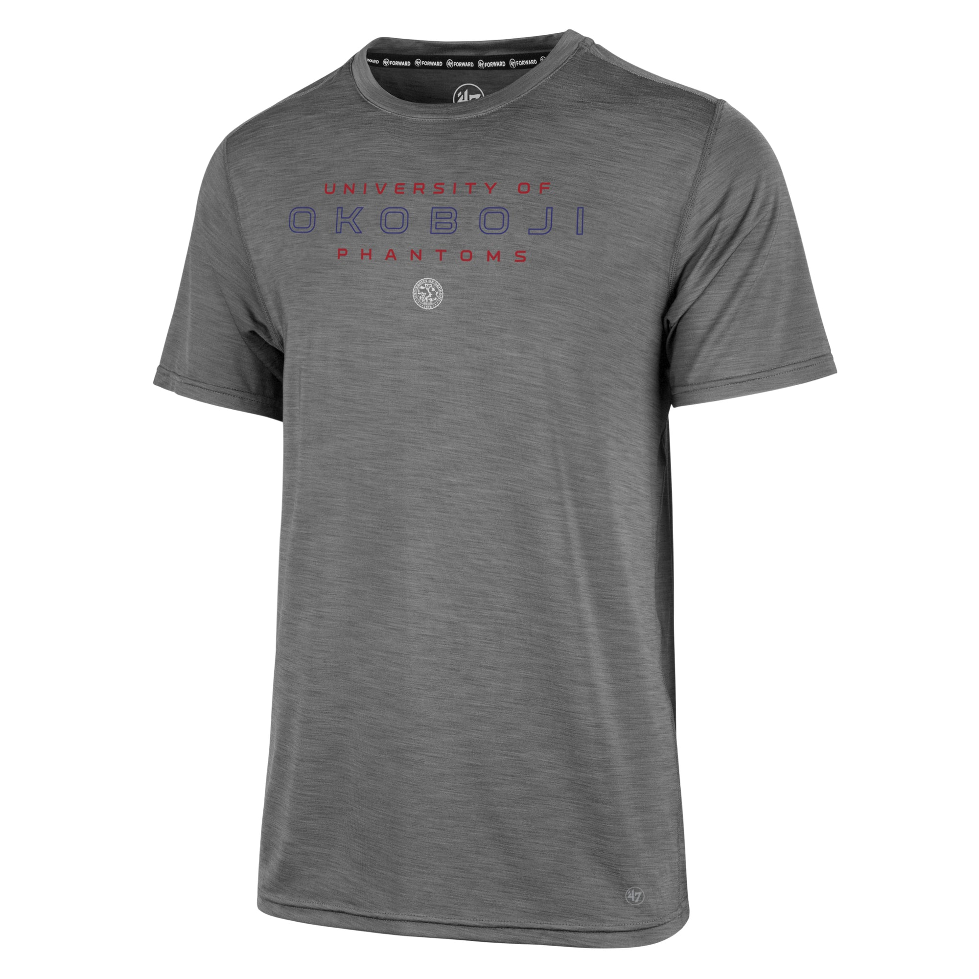 University of Okoboji '47 FORWARD Microlite Shade Tee