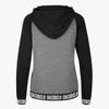 Ladies Encore Revolve Hoodie - Heather / Black