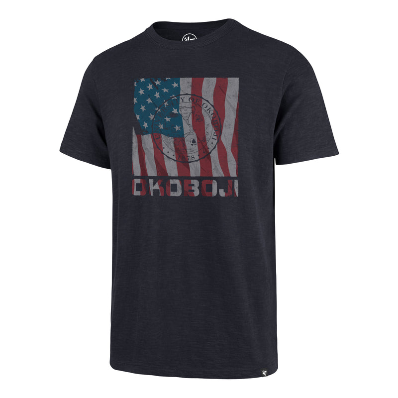 '47 Old Glory Okoboji CLUB Tee