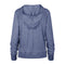 Ladies OKOBOJI ROYAL SIDELINE LACE PULLOVER - Royal