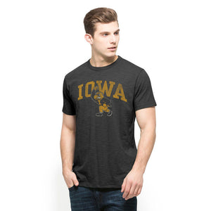 Iowa Hawkeyes Classic Scrum T-Shirt - Charcoal