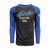 Men's Heritage Raglan Triblend Long Sleeve Tee - Royal