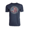 Men's American Flag Triblend Tee