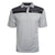 Okoboji Contrast Stripe Mesh Polo - Split Black